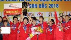 Đả bại TPHCM I, nữ Hà Nam lần đầu lên ngôi