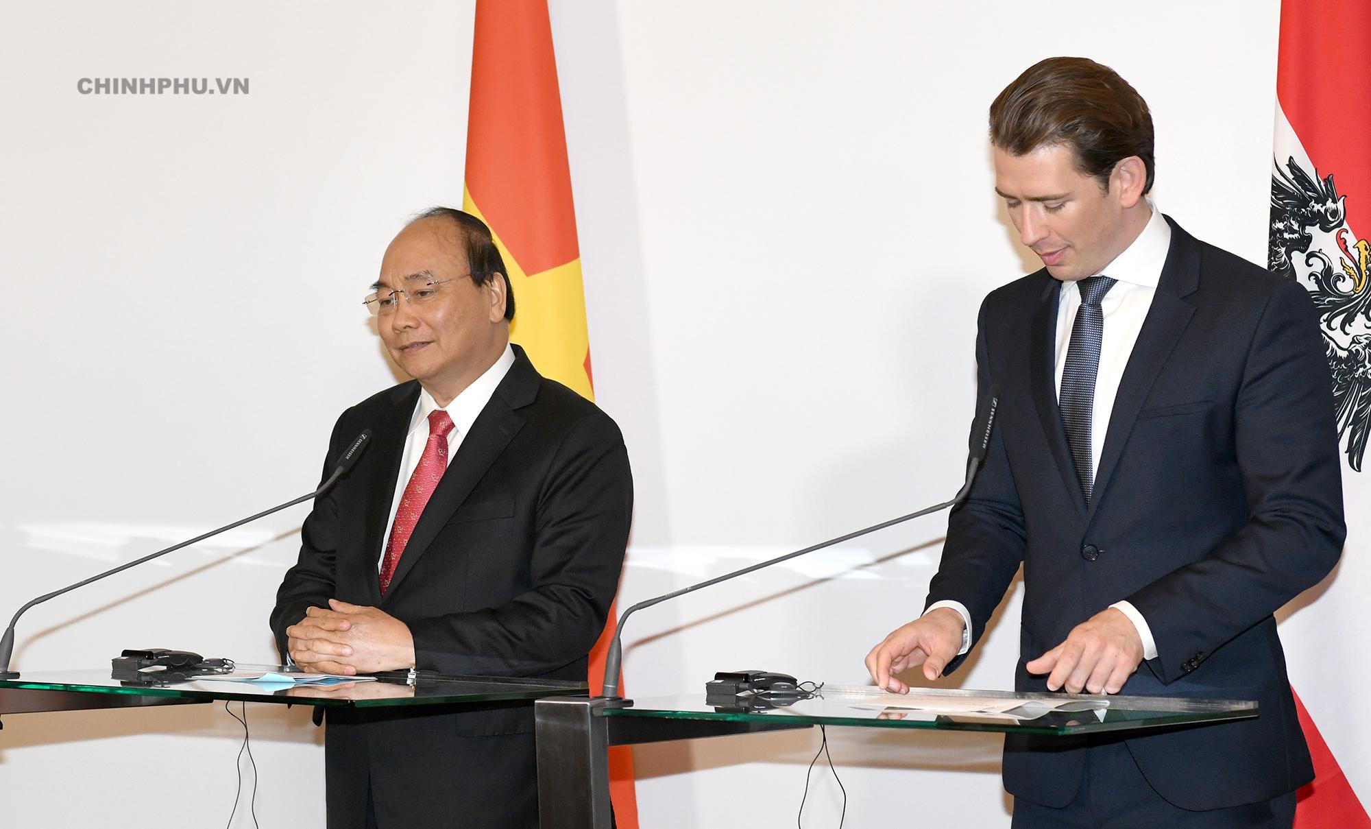 Thủ tướng Áo: DN Áo hài lòng khi làm việc tại Việt Nam