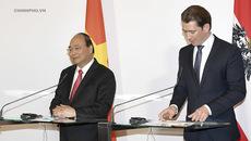 Tuyên bố báo chí chung Việt Nam-Áo