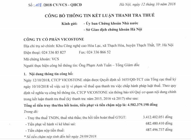 tin chứng khoán,chứng khoán,VN-Index,thị trường chứng khoán,Hồ Xuân Năng,Vicostones,tỷ phú USD