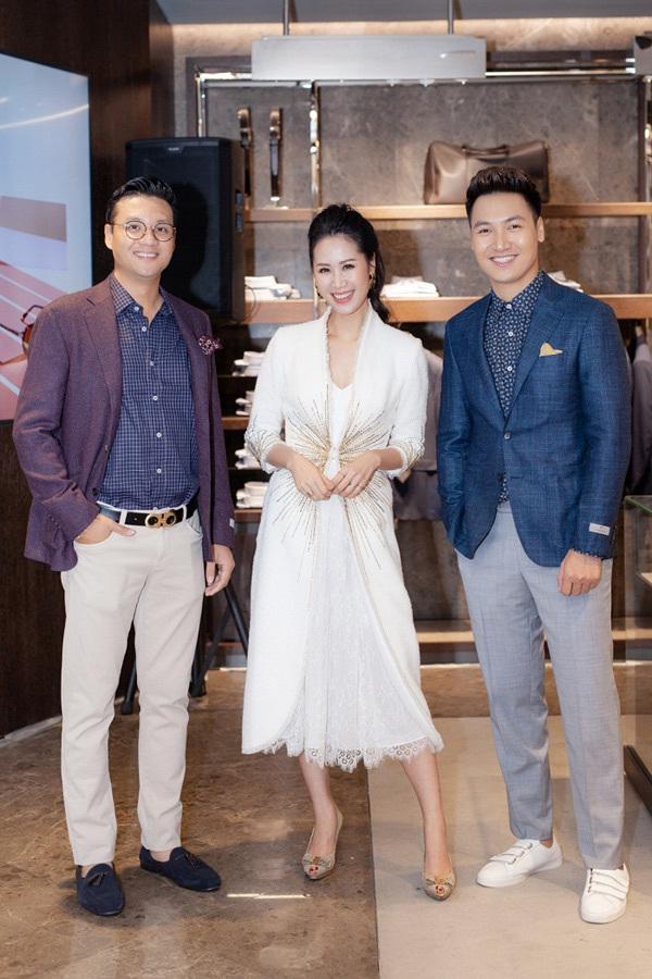 Thời trang Canali khai trương cửa hàng đầu tiên ở Hà Nội