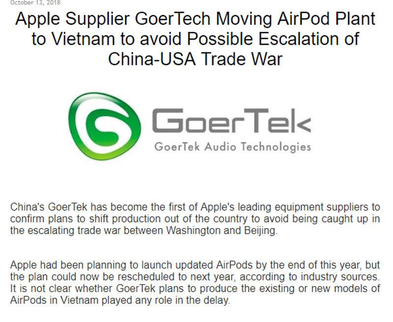 Trung Quốc,hàng Trung Quốc,cuộc chiến thương mại Mỹ Trung,chiến tranh thương mại,Donald Trump,Apple,Lotte