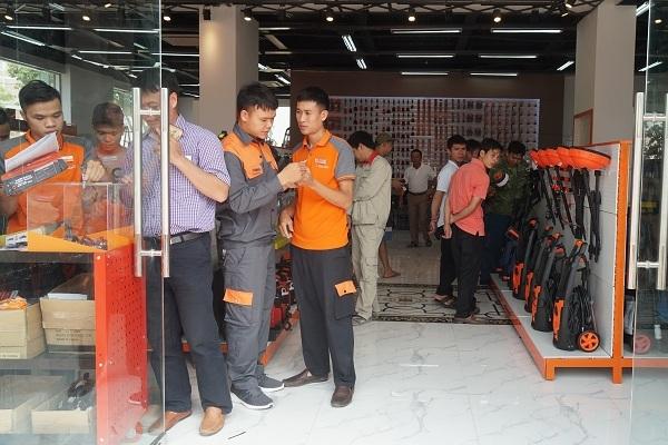 Ra mắt chuỗi Kowon bán lẻ thiết bị cơ khí, xây dựng