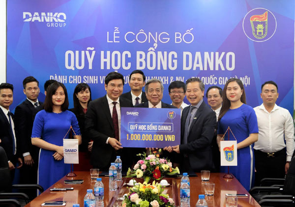 Công bố Quỹ học bổng Danko trị giá 1 tỷ đồng