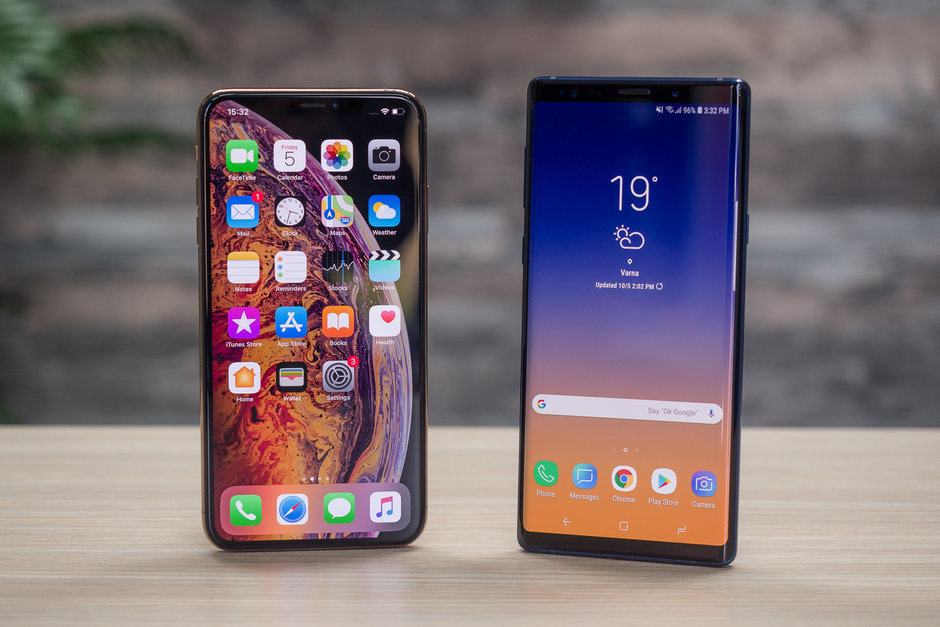 Galaxy Note 10,iPhone Xs Max,Galaxy Note 9,iPhone,Điện thoại iPhone,Samsung