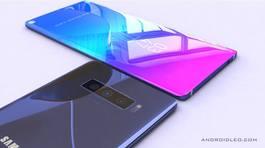Galaxy Note 10 tăng kích cỡ màn hình để lớn hơn iPhone Xs Max