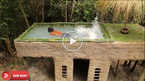 Làm sao để xây bể bơi sang chảnh trong một ngôi nhà cấp 4