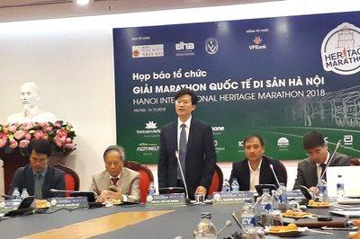 Sao điền kinh Việt Namdự giải marathon quốc tế di sản Hà Nội 2018