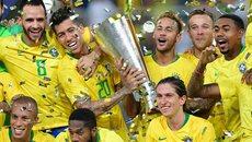 Neymar kiến tạo, Brazil đả bại Argentina ở phút 93