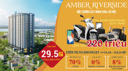 Amber Riverside- dự án nhiều sức hút