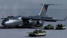 Máy bay vận tải TQ khiến Nga, Mỹ phải dè chừng