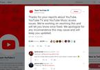 YouTube sập trên toàn cầu, màn hình trắng không video