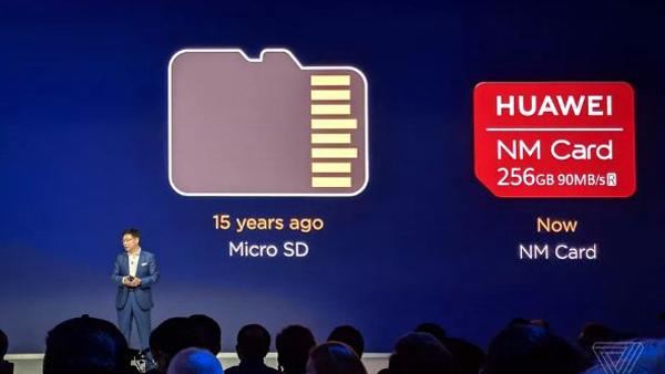 Huawei bỏ thẻ nhớ trên điện thoại, thay bằng thẻ nano
