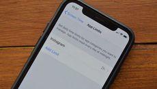 Cách kiểm soát thời gian sử dụng từng ứng dụng trên iOS 12
