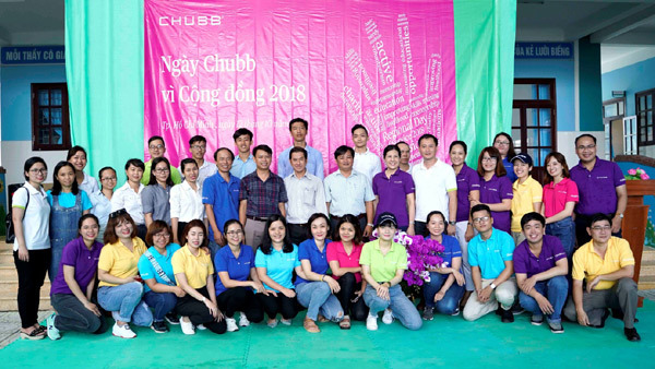 Tập đoàn Chubb trao học bổng cho HS nghèo huyện Cần Giờ