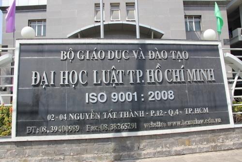 90 sinh viên Trường ĐH Luật TP.HCM có thể bị buộc thôi học vì điểm kém