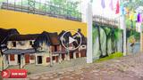Phố bích họa khổng lồ ở Phan Đình Phùng khiến bất cứ ai cũng muốn đặt chân tới một lần