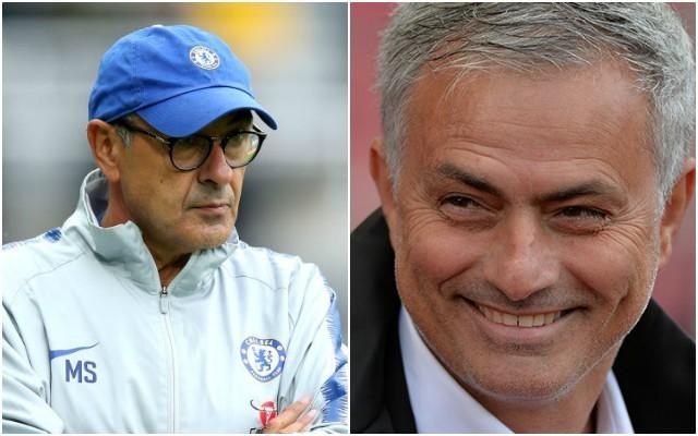 Sarri vs Mourinho