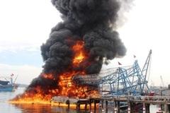 Nổ tàu cá, thanh niên 21 tuổi tử vong tại chỗ