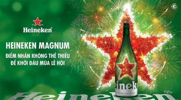 Heineken Magnum - Điểm nhấn không thể thiếu của mùa lễ hội