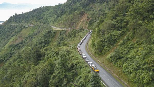 Ôtô vượt địa hình Yên Bái, trải nghiệm hành trình di sản