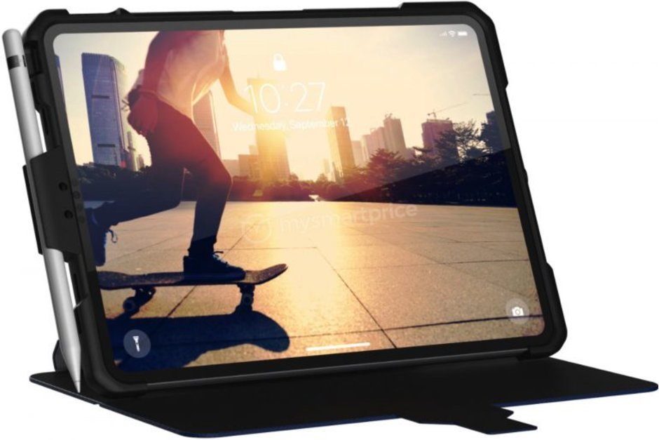 Hình ảnh đầu tiên về iPad Pro 2018: Không viền màn hình, có Face ID