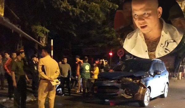 Xe của Anh Tuấn 'Người phán xử' nát đầu vì đâm vào xe Dương Hồng Sơn