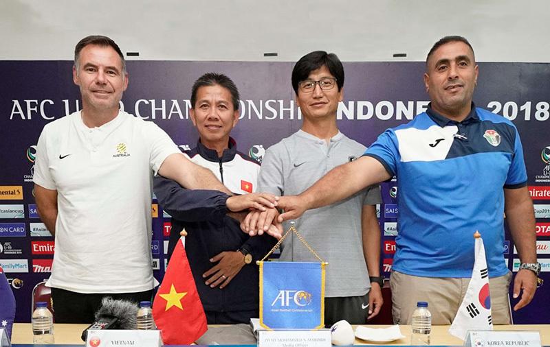 HLV Hoàng Anh Tuấn rất tự tin cùng U19 Việt Nam