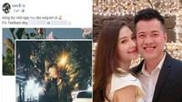 Hot girl Lưu Đê Li Đăng ảnh kỷ niệm 1.400 ngày yêu, tự tố mình giật chồng người?