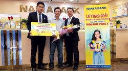 Khách hàng Nam A Bank may mắn nhận iPhone X, iPad