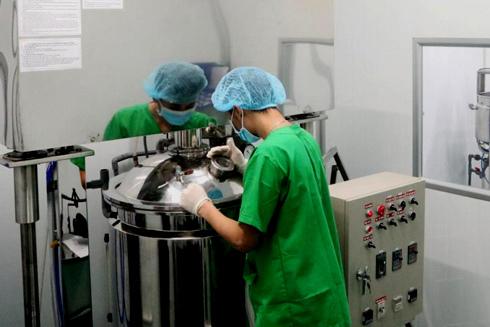 mỹ phẩm Việt,sản xuất mỹ phẩm