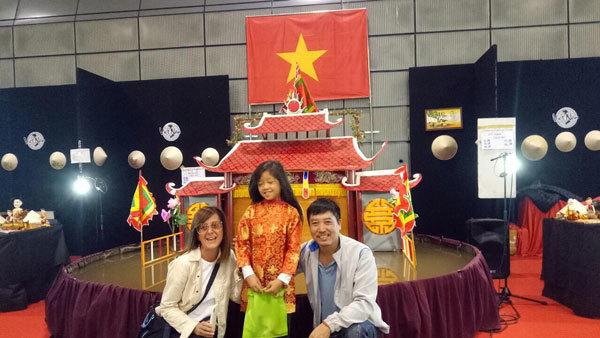Khán giả châu Âu ngạc nhiên với rối nước Việt Nam