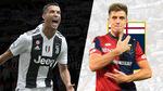 Trực tiếp Juventus vs Genoa: Ronaldo đá chính