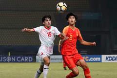 U19 Trung Quốc thua đau trận ra quân giải châu Á