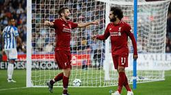 Salah nổ súng, Liverpool chật vậ hạ Huddersfield