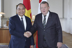 Việt Nam, Đan Mạch ra Tuyên bố chung