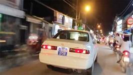 Vụ xe biển xanh 80B náo loạn đường phố: Xử phạt 14,7 triệu đồng