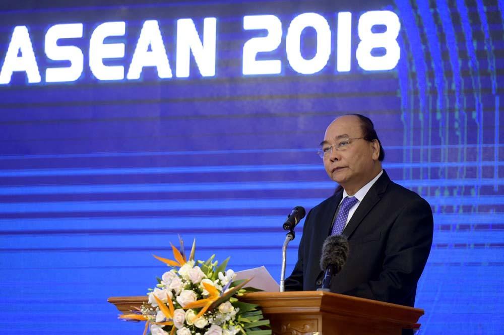Thủ tướng Nguyễn Xuân Phúc,Nguyễn Xuân Phúc,diễn đàn kinh tế Asean,Hội nghị WEF ASEAN