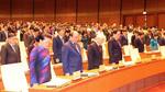 Hình ảnh trước giờ khai mạc Quốc hội khóa 14