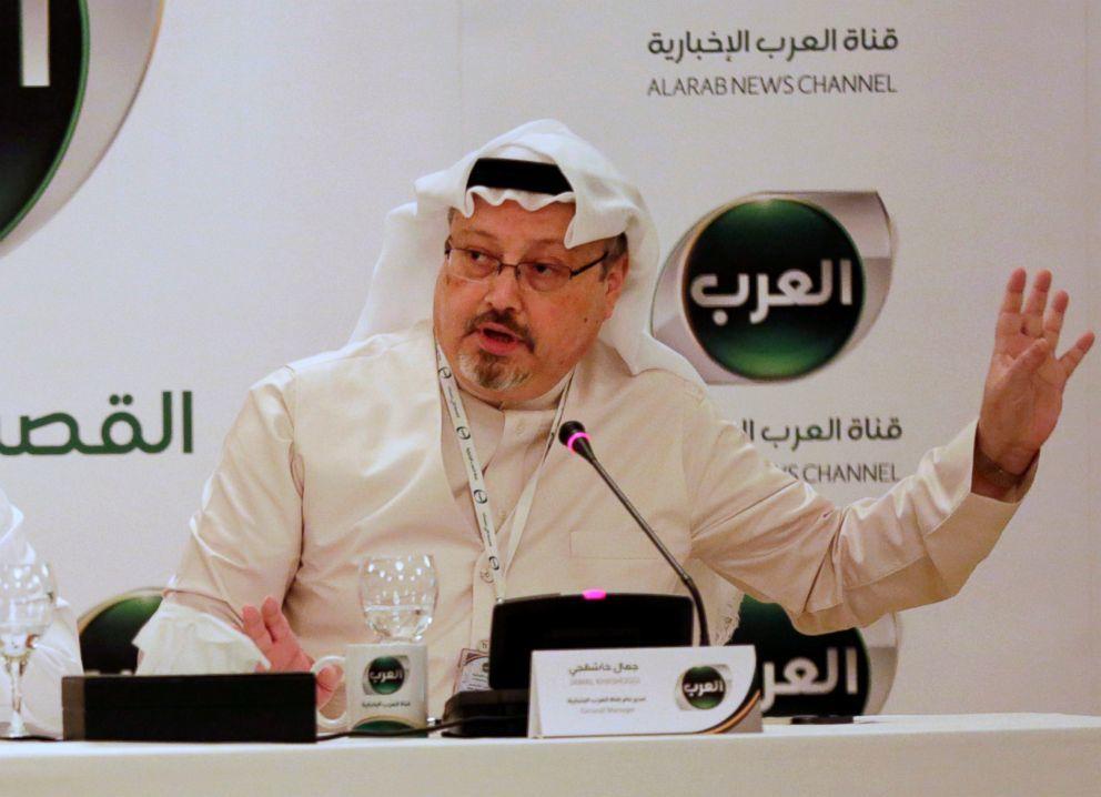 Nhà báo Jamal Khashoggi