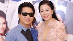 Vợ Trọng Tấn mặc gợi cảm xuất hiện cùng chồng