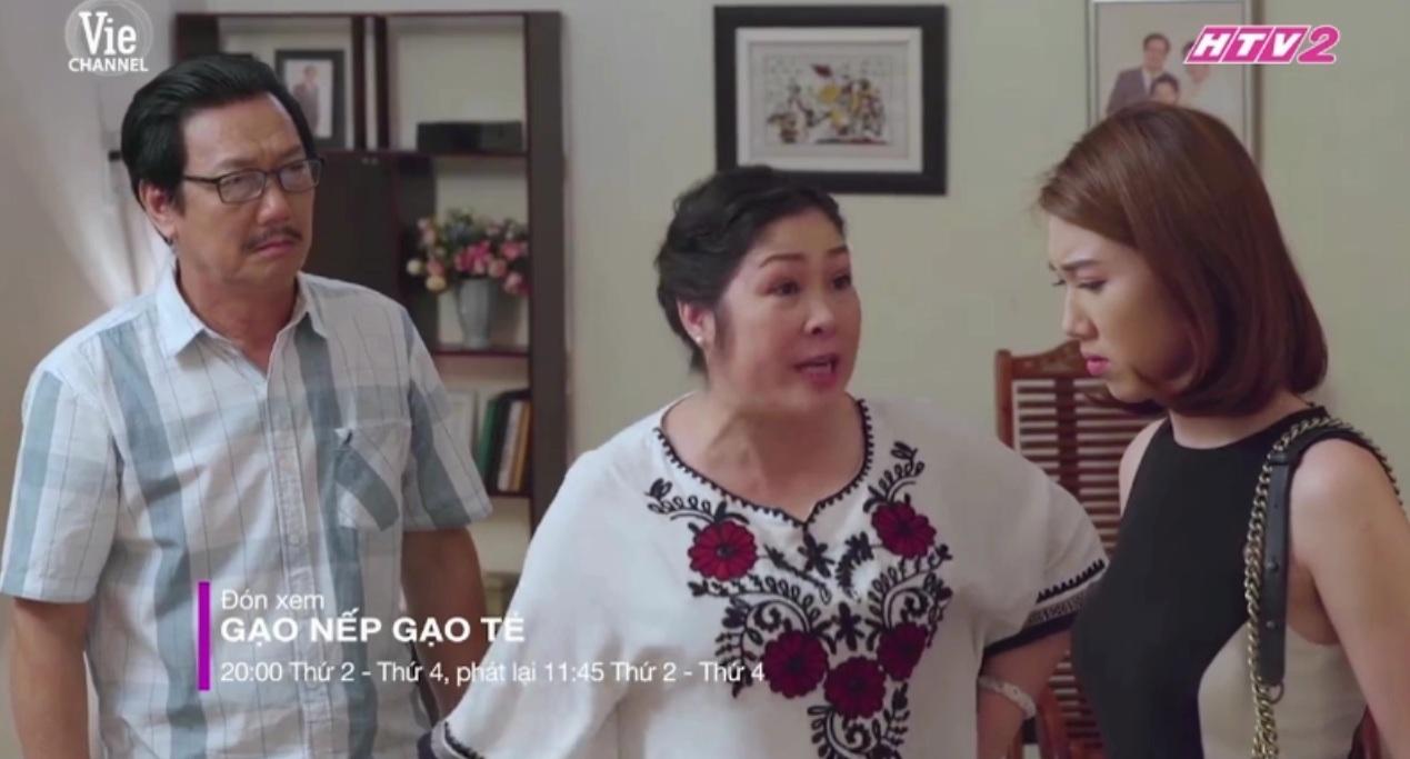 Gạo nếp gạo tẻ tập 73: Hồng Vân khóc nức nở khi Trung Dũng quyết định ly hôn