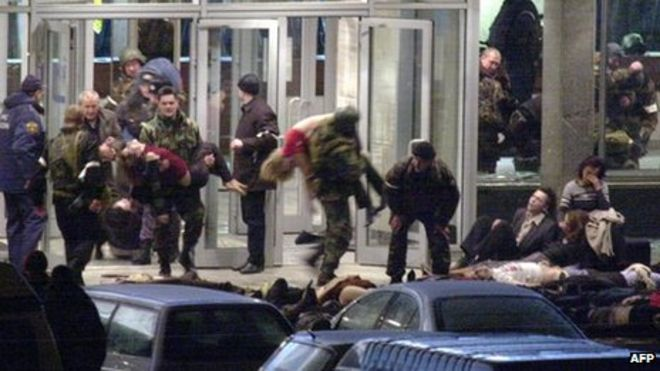 ngày này năm xưa,thảm kịch,bắt cóc con tin,nhà hát Nga