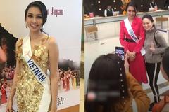 Thùy Tiên bật khóc khi được Việt kiều Nhật ủng hộ tại Hoa hậu Quốc tế