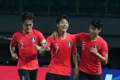 Hạ U19 Jordan, U19 Hàn Quốc rộng cửa vào tứ kết