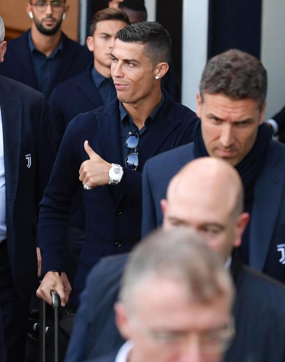 Ronaldo,MU,Juventus