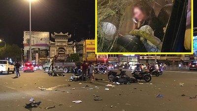 Vụ nữ tài xế BMW tông 5 xe máy và những người đàn bà say