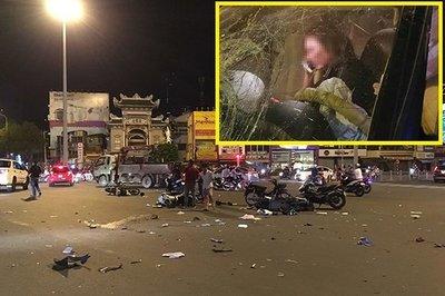 Ám ảnh đàn bà say rượu sau vụ tông xe ở Hàng Xanh