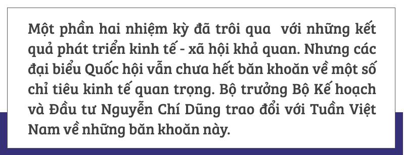 Bộ trưởng Nguyễn Chí Dũng,Bộ Kế hoạch Đầu tư,kinh tế vĩ mô,chiến tranh thương mại,lạm phát