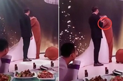 Đang cử hành hôn lễ, bạn trai cũ lên ôm chặt cô dâu khiến chú rể đứng hình